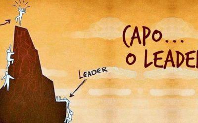Un capo comanda, un leader guida e illumina
